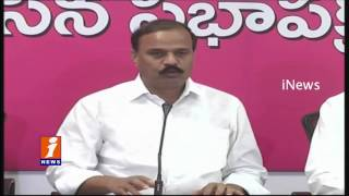 TRS MLC Karne Prabhakar Call Chandrababu as Kalakeya | iNews