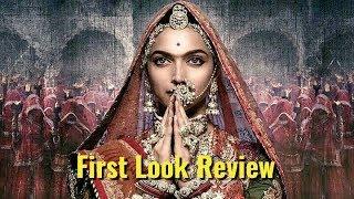 Padmavati First Look Unknown Fact & Review - Deepika Padukone , Ranveer Singh, Shahid Kapoor