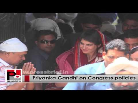 Young Priyanka Gandhi Vadra - inspiring leader like Indira Gandhi