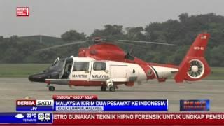 Malaysia Kirim 2 Pesawat Bombardier Atasi Kabut Asap