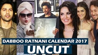 Dabboo Ratnani's Calendar 2017 Launch   FULL HD VIDEO   Shahrukh Khan, Varun Dhawan, Kriti Sanon