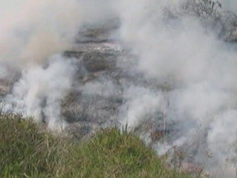 Raw- Growing Lava Stream in Hawaii News Video