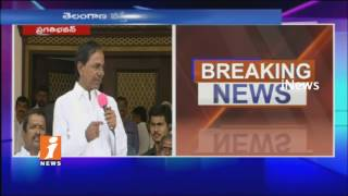 CM KCR Speech At Pragathi Bhavan Over Power Distribution For Irrigation Projects | Telangana | iNews
