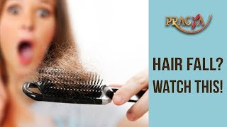 HAIR FALL? Watch This To Know What You Have To Do | Dr. Shehla Aggarwal