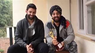 Kanwalpreet & Ojaswwee Thank Audience | ZUBAAN | HIFF 2017 Haryana International Film Festival 2017