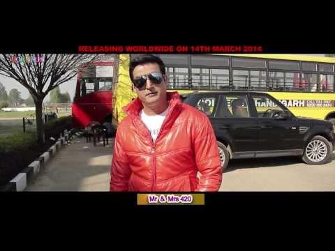 Gippy Grewal, Jimmy Shergill - Mr & Mrs 420 - Promotion - Punjabi Movie