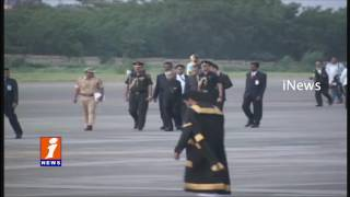 Pranab Mukherjee Arrives in Hyderabad Tomorrow For  Southern Sojourn | iNews