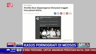 Ongen Menyesal Unggah Foto Presiden Jokowi dengan Nikita Mirzani