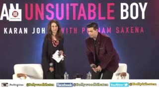 Full Watch!!! Shahrukh Khan Launch Karan Johar's Book An Unsuitable Boy