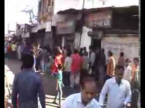 Rajkot Road Violence on the road zero tollrance live fight