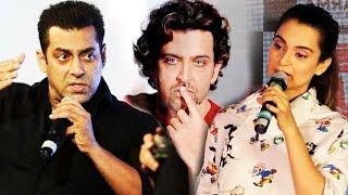 Salman Khan Fans Quit Smoking, Kangana OPENS On Relationship With Hrithik