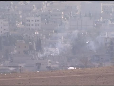 Raw- Syrian Rebels Enter Kobani From Turkey News Video