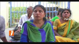 Wife Protest In Front Of Husband House In Sarapaka |Husband Cheats Wife|Bhadradri Kothagudem| iNews