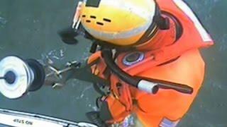 Raw: Coast Guard Rescues Three Surfers in Oregon