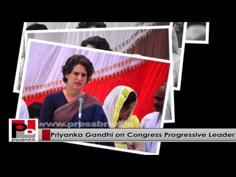 Star Congress campaigner Priyanka Gandhi Vadra – progressive and energetic  personality