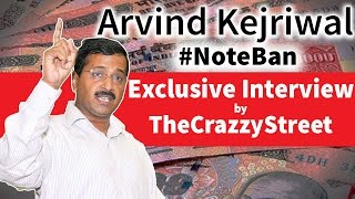TCS - Arvind Kejriwal Exclusive Interview on 500 and 1000 Rupees Note Ban & New 2000 Rs Note (FAKE)