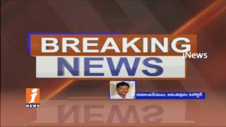 High Tension at AnanTapur Collectorate | Left Parties Protest For Drought Relief | iNews