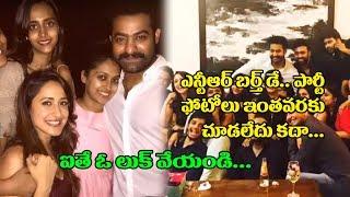 Jr NTR With his Wife Lakshmi Pranathi at Birthday Party | NTR Birthday Celebrations | Top Telugu TV
