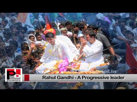 Perfect mass leader Rahul Gandhi - who not only preaches but delivers too