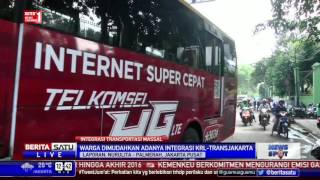 Integrasi Transportasi Massal, Transjakarta Operasikan Bus Feeder Stasiun