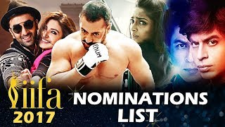 IIFA 2017 Nomination List Out - Salman's Sultan Tops The List, Dangal Ignored