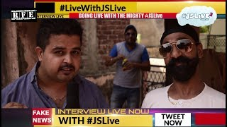 #JSLive on TV News Interview (Live) | #JSLive2 | Faking News | Punjabi Funny Comedy Scenes 2017