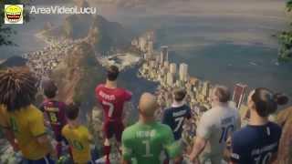 Animasi Video Bola Nike - The Last Game ft. Ronaldo, Neymar Jr., Rooney, Zlatan, Iniesta DKK