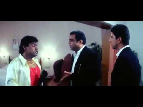 Johnny Lever, Paresh Rawal Comedy - Awara Paagal Deewana - Bollywood Movie Comedy Scene
