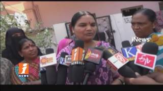 Women's Protest Against Modi's Govt On LPG Gas Price Hike In Kamareddy | iNews