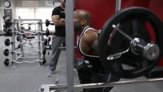 How to- Weighted SQUATS with FRED BIGGIE SMALLS (Pro Series)