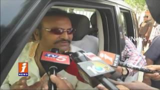 Actor Mohan Babu Meets AP CM Chandrababu Naidu At Naravaripalli | Chittoor | iNews