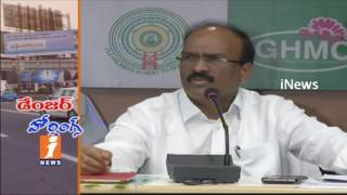 GHMC Impose Ban on Hoardings in Hyderabad | Workers suffer With Lack Of work | iNews