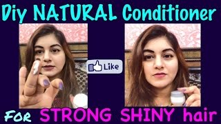 DIY NATURAL Homemade Conditioner for LONG SHINY HEALTHY hair | JSuper Kaur