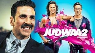 Akshay Kumar PROMOTES Varun Dhawan JUDWAA 2