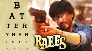 SRK's Cracker Dialogue BATTERY NAHI BOLNE KA In RAEES Creates Thunder