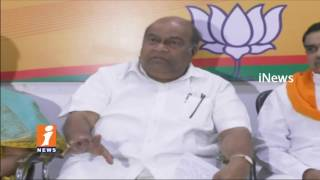 BJP Leader Nagam Janardhan Reddy Comments On CM KCR Over Miyapur Land Scam Issues  | iNews