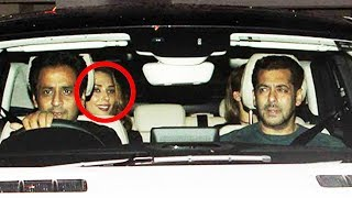 Salman Khan Takes Iulia On Long Drive In Shahrukh's Gifted Car