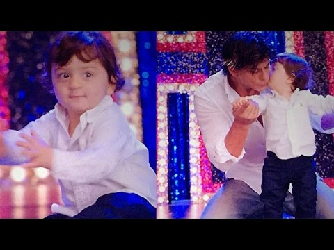 Shahrukh's Son AbRam Makes His Debut In 'Happy New Year'