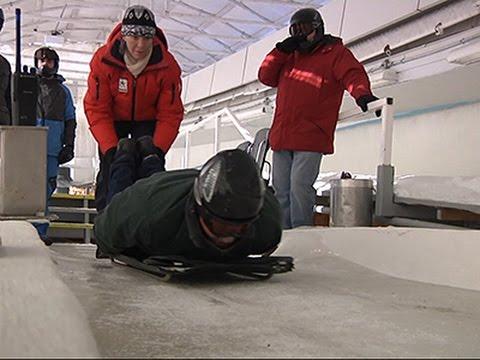 On the Wild Slide- Lake Placid Skeleton Rides News Video