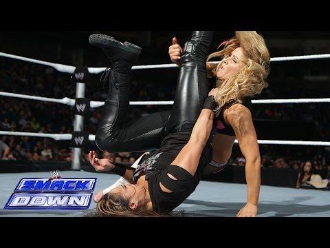 Natalya vs. Tamina: SmackDown, Dec. 6, 2013 - WWE Wrestling Video