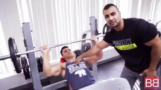 BBRT #21- Full CHEST GYM ROUTINE that TARGETS UPPER CHEST! (Hindi / Punjabi)