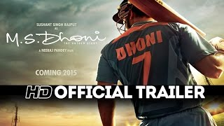 M.S.Dhoni - The Untold Story | Official Trailer | Sushant Singh Rajput