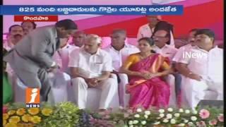 Harish Rao Speech at Sheep Distribution Scheme Launch Kondapaka | Siddepat | iNews
