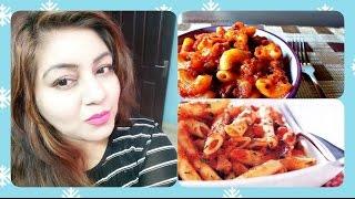 Pasta in Red sauce recipe in hindi | YUMMY Macaroni easy recipe | JSuper Kaur