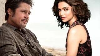 Deepika Padukone Signs A Film With Brad Pitt