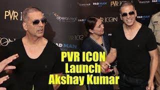 Akshay Kumar Inaugurates New PVR Icon Theatre In Oberoi Mall   Goregaon Mumbai