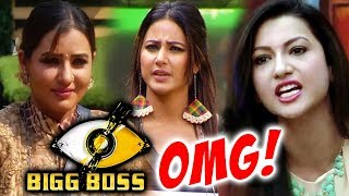 Shilpa Shidne MIMICS Hina Khan Again, Gauhar Khan SLAMS Hina Khan And Luv Tyagi | Bigg Boss 11