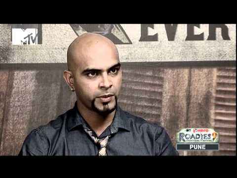 ROADIES 9 - PUNE Auditions - (Episode 3) Mobin