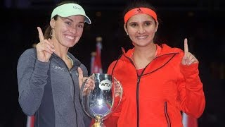 Sania Mirza and Martina Hingis equals record for longest winning streak