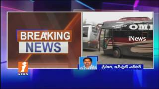 AP Govt Stops 900 Private Travel Bus Services | iNews